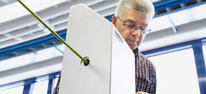 CENTERVIEW 8000 - non-contact measuring system - Header