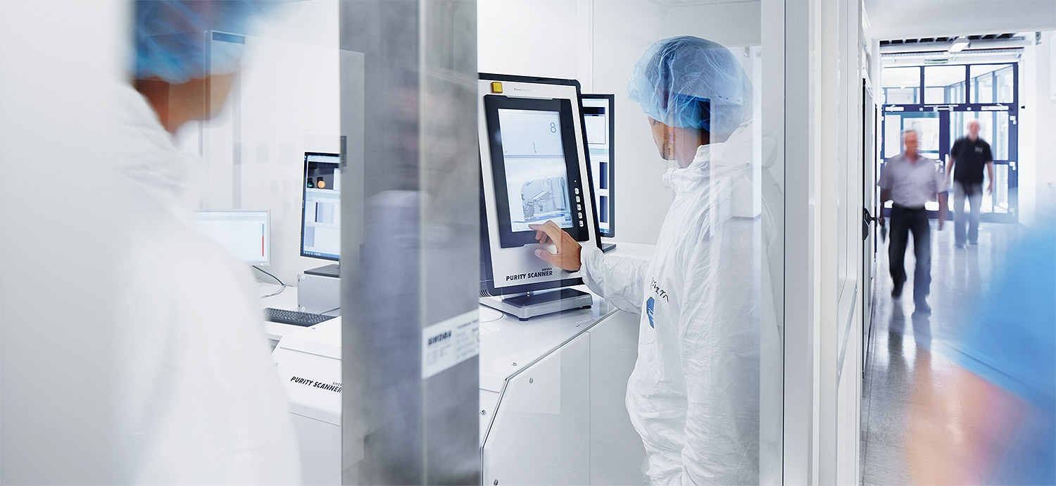 PURITY SCANNER in clean room