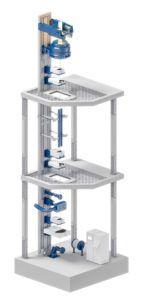Line image Drawing Tower FIBER Series 6000