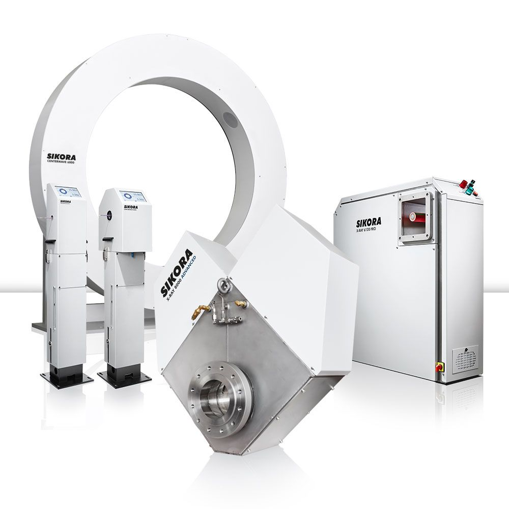 CENTERWAVE 6000, X-RAY 6000 PRO, CENTERVIEW 8000 and X-RAY 8000 ADVANCED for wall thickness measurement and control to nominal values