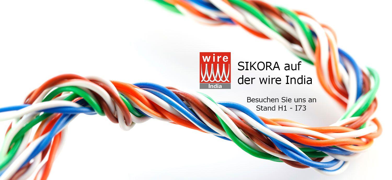 SIKORA auf der wire India