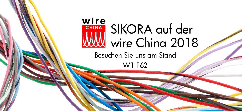 SIKORA auf der wire China 2018